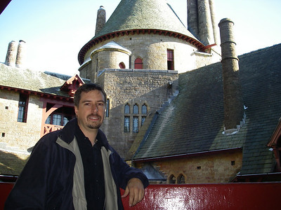 Me at Castle Coch.  yes, i AM tired ... :)