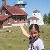 I'm holding up the lighthouse