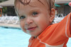 Isaac at the pool.
