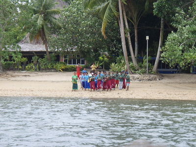 Ahhhhhh...at long last our resort, Baqua Lagoon resort.