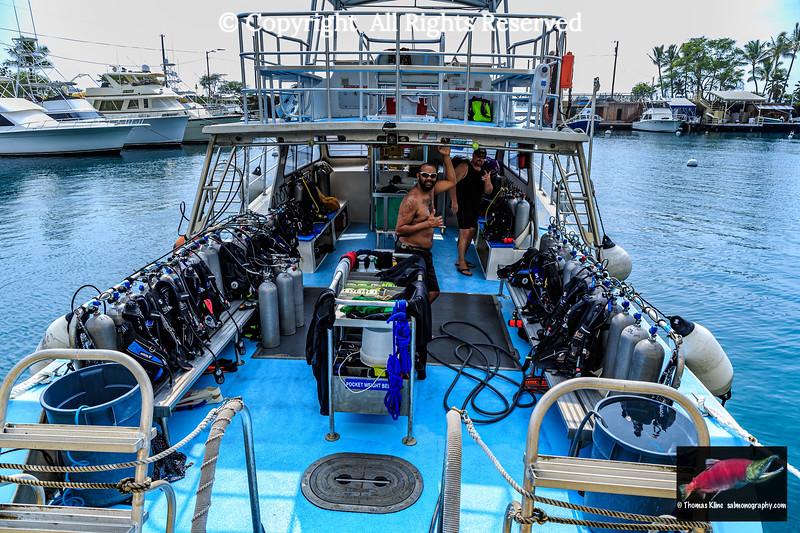 Lets go diving!