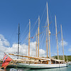 The Dock Yard is both a museum and a marina, with some very large sail and power boats berthed there.