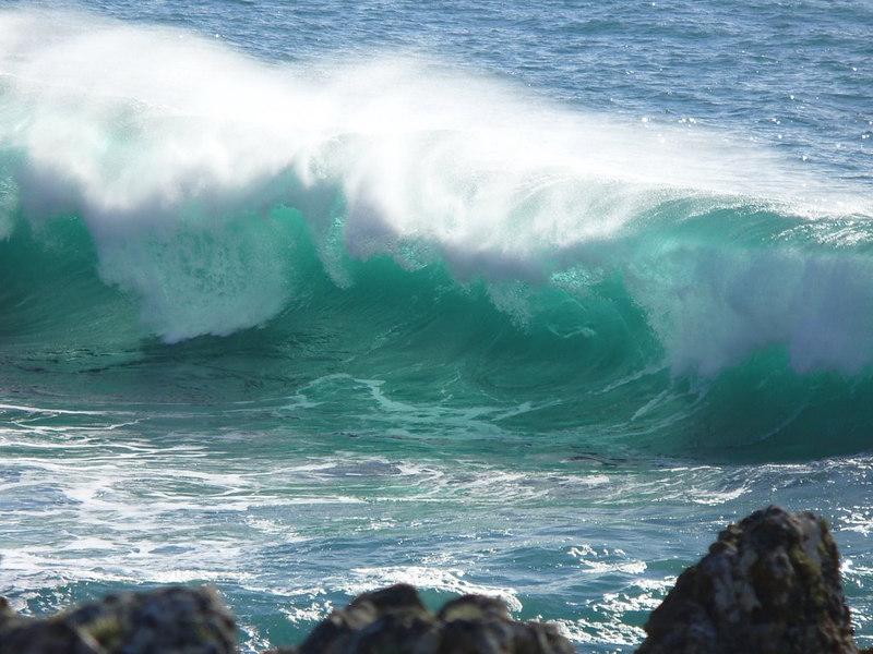 Waves at Sea Ranch CA