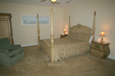 3rd floor master bedroom- lake view
