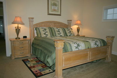 3rd floor master bedroom- gulf view