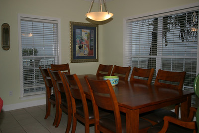 2nd floor dining room- seats 10