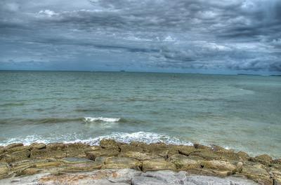 Sky, sea & rocks