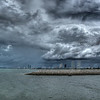 Stormy Skies over Pattaya City, Thailand