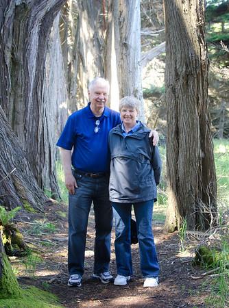 Sea_Ranch-Jim&Carolyn_Cradler_visit