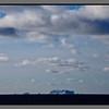 Black sea, little clouds