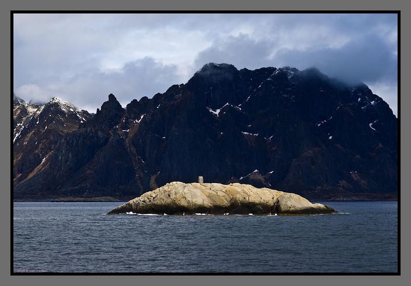Sea mark<br /> Steigen, Nordland