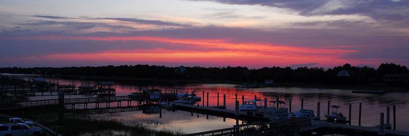 Sunset on Isle of Palms SC