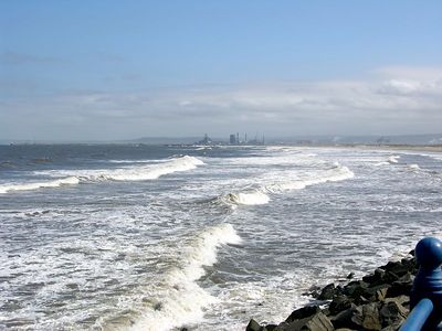 Looking South to the North Yorks Moors from Seaton Carew