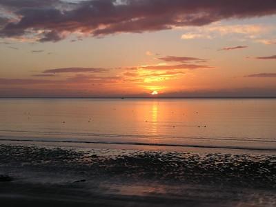 Sunrise from Seaton beach #11