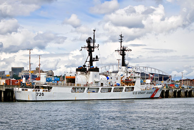 USCGC MIDGETT (WHEC-726) a High Endurance Cutter. 378 ft in length