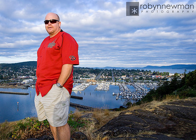 Steve at Cap Sante, Anacortes Washington (photo 08/2010)