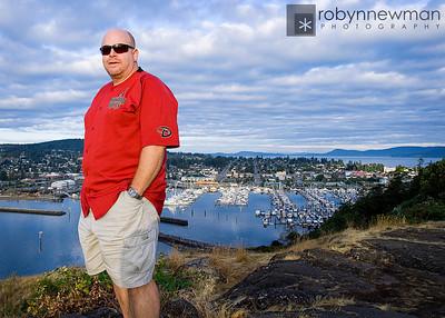 Steve at Cap Sante, Anacortes Washington (photo 08/2010)