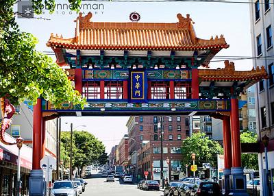 Chinatown in Seattle, WA