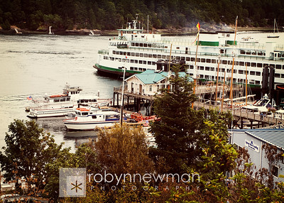 Friday Harbor, San Juan Island