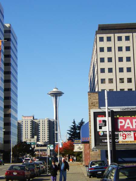 The first look at the Space Needle