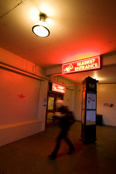 Side entrace to Pike Place Market