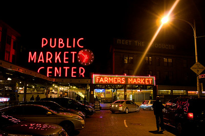 At the end of the week, we had to visit the market one last time.