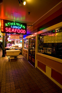 "We had breakfast at the Athenian Seafood restaurant one morning.  A scene from ""Sleepless in Seattle"" was filmed here - the one where Tom Hanks was getting dating advice from a buddy."