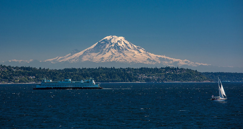 Mount Ranier, Seattle