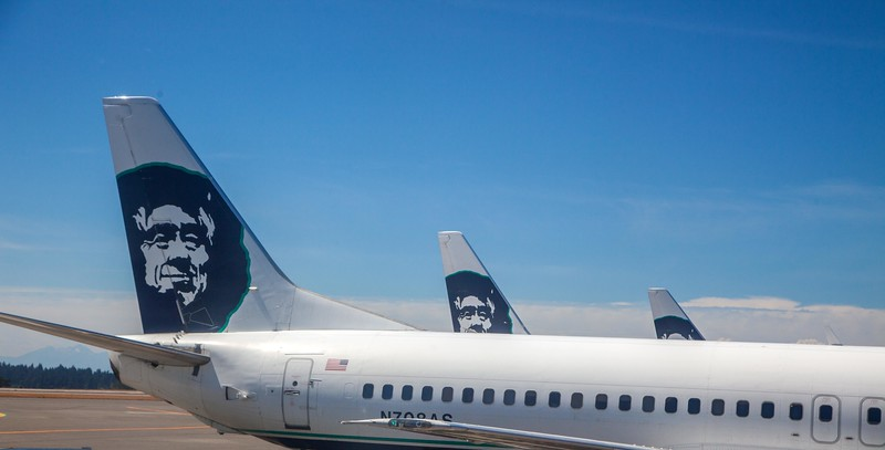 Let's hear it for Alaska Airlines