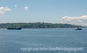 Tugboat Towing a Barge in Puget Sound