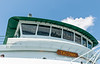 Reflections in the Ferry Pilothouse Windows