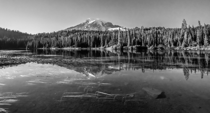 ~~ Reflection Pools ~~<br /> <br /> Reflection of Mt Rainier in reflection pools.