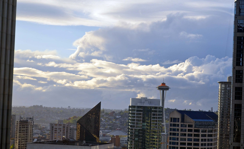 View of the Space Needle, now 50 years old