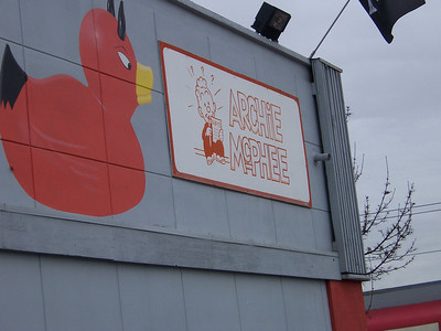 Archie Mcphee devil duck.
