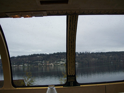 View from the dinner train.