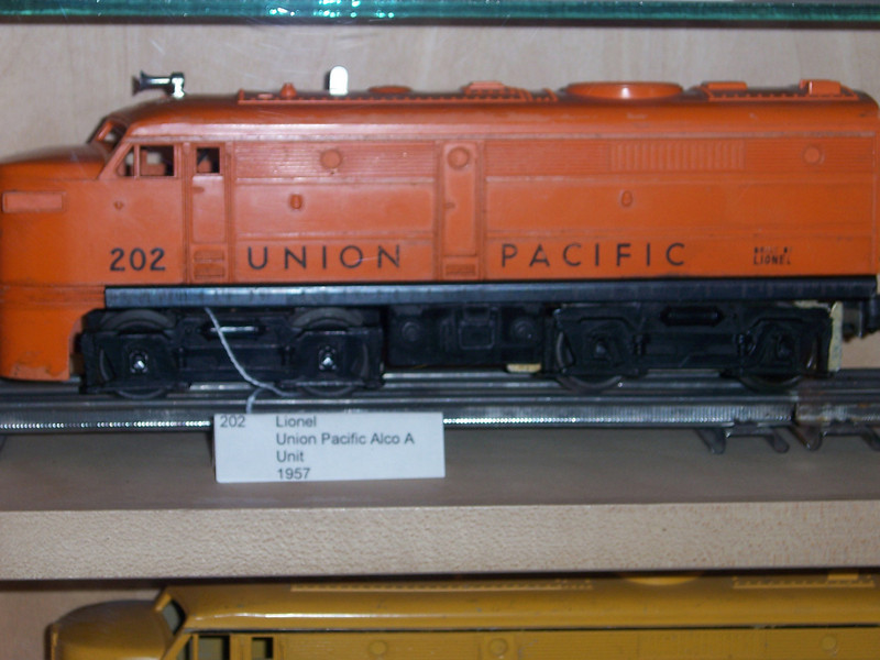 Visiting a model train museum.