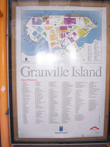 Welcome to Granville Island.  Lots of shops, restaurants, you name it.