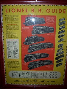 Guide to the Lionel Trains.