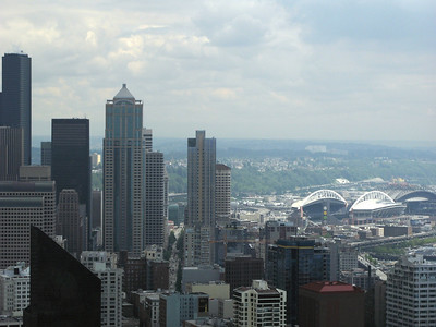 View from top of the Space Needle