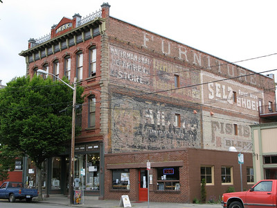 downtown Port Townsend, Washington