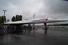 Retired British Airways Concorde