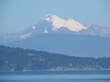View of Mount Baker from the ferry dock at Anacortes.