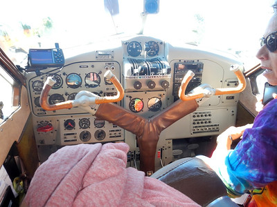 Co_Pilot in the De Havilland Beaver Cockpit