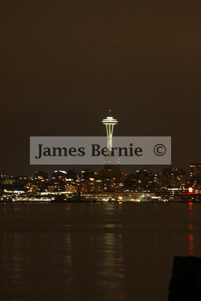 Seattle, WA, Night photos, September 2008