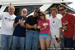 Bandito Charters and friends: Greg, Tom, Rick, Courtney, Jackie, and RJ