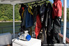 Gear: Light & Motion Bluefin HD housing with hanging drysuits