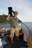 Mike comes onboard to film for the Oregon Field Guide