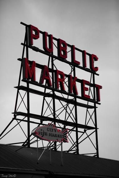 Public market, Seattle, USA