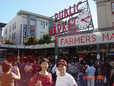 Seattle, Washington - Kenny Tang Visit 2006