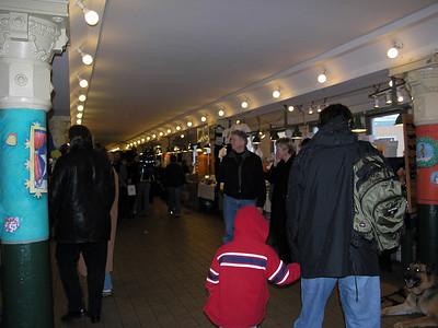 Seattle, Washington: Pike Street Market and environs.
